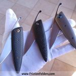 Lee Lerman Custom Knives Friction Folders for sale zu verkaufen