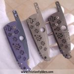 Mike Snody Custom Knives Friction Folders for sale / zu verkaufen