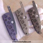 Mike Snody Custom Knives Friction Folders for sale / zu verkaufen
