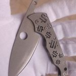 Mike Snody Custom Knives Friction Folder #1 154CM: for sale / zu verkaufen