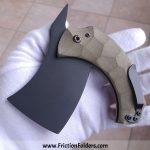 North Side Knife Pocket Cleaver Friction Folder for sale zu verkaufen