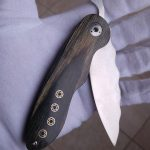 Peter Steyn Handcrafted Knives Gladiator Friction Folder for sale zu verkaufen