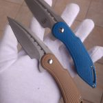 Todd Begg Knives Custom Mini Glimpse Friction Folders for sale / zu verkaufen